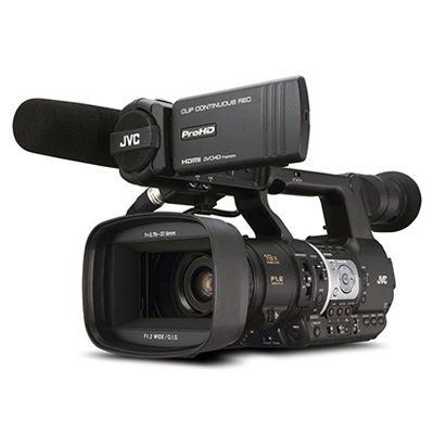 Image of JVC JY-HM360 Handheld HD Camcorder