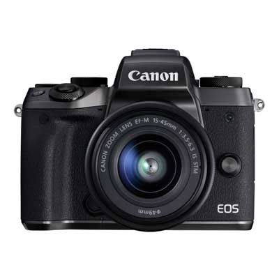 Canon EOS M5 Digital Camera with 15-45mm Lens kit