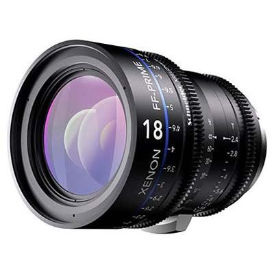 Schneider 18mm T2.4 Xenon Lens - Nikon Fit Feet Scale