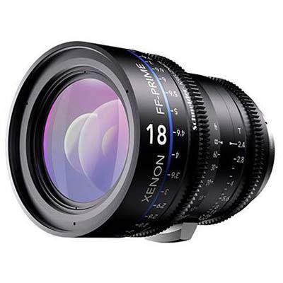 Schneider 18mm T2.4 Xenon Lens - Nikon Fit Metre Scale