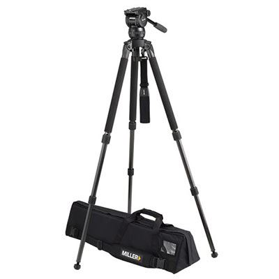Miller CompassX CX10 3753 Toggle 2-St Alloy Tripod