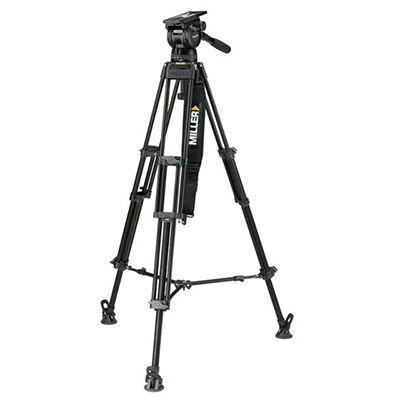 Miller CompassX CX10 3756 Toggle 2-St Alloy Tripod