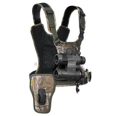 Image of Cotton Carrier G3 Camera + Bino Harness - Camo