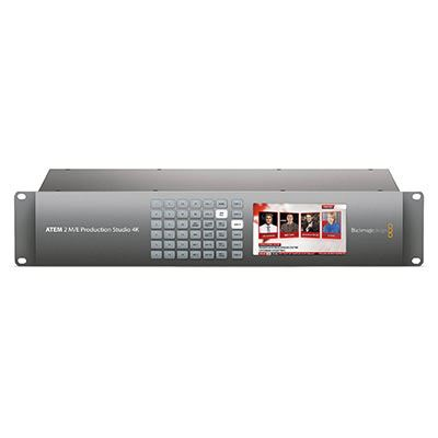 Image of Blackmagic ATEM 2 M/E Production Studio 4K