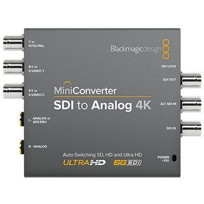Blackmagic Mini Converter - SDI to Analogue 4K