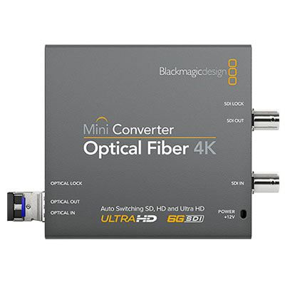 Blackmagic Mini Converter - Optical Fiber 4K