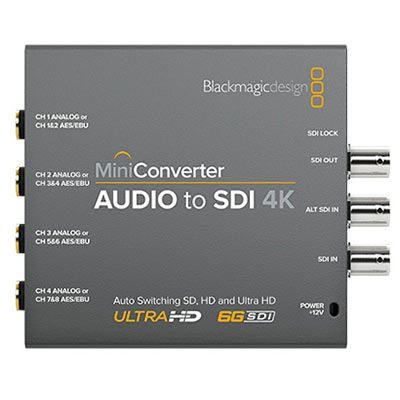 Blackmagic Mini Converter Audio To Sdi 4k Wex Photo Video