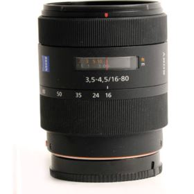 Used Sony 16-80mm f3.5-4.5 ZA VS T* DT Lens