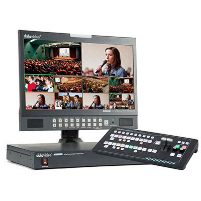 Image of Datavideo SE-1200 Switcher + RMC-260 Controller Bundle
