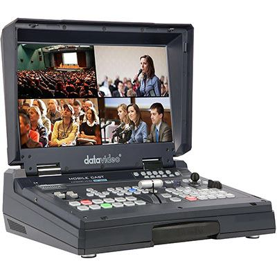 Image of Datavideo HS-1500T 4-Channel HD/SD HDBaseT Portable Video Studio