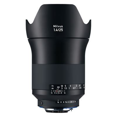 Zeiss 25mm F1.4 Milvus ZF.2 – Nikon Fit