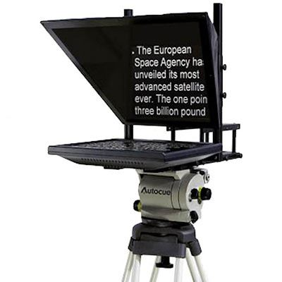 Image of Autocue 17inch Straight read Starter Series Package for use with Light Rings
