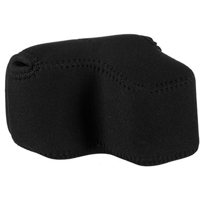 Optech Soft Pouch D-Offset Black