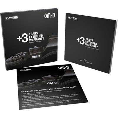 Olympus OM-D 3 Years Extended Warranty