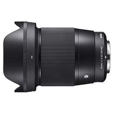 Sigma 16mm f1.4 DC DN - Sony E-mount