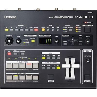 Image of Roland V40HD Multi-Format Video Switcher