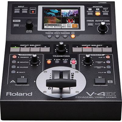 Image of Roland V4EX 4-Channel Digital Video Mixer with Effects (SD Processing)