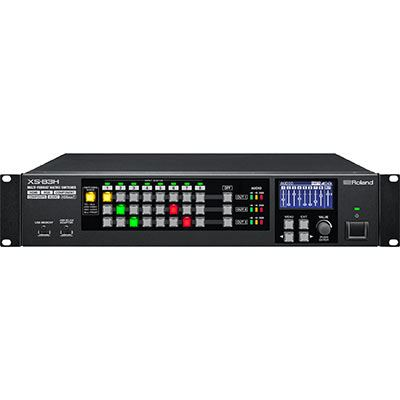 Image of Roland XS83H 8-in x 3-out Multi-Format AV Matrix Switcher