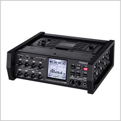 Roland R88 8-Channel Recorder and Mixer incl. CB-R88 Carrying Bag