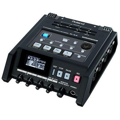 Image of Roland R44E 4-Channel Portable Recorder