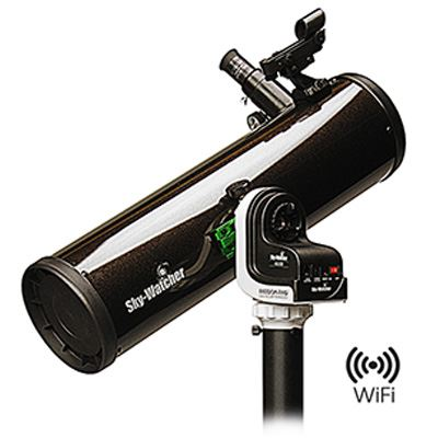 Sky-Watcher Explorer-130PS AZ-Gti Wi-Fi Go-To Parabolic Newtonian Telescope
