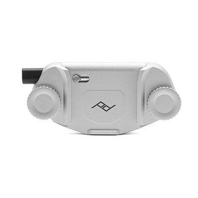Image of Peak Design Capture Camera Clip V3 - Silver (No Plate)