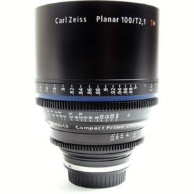 Used Zeiss 100mm T2.1 CP.2 CF Cine Prime T* Lens - Canon EF Mount (Metric)