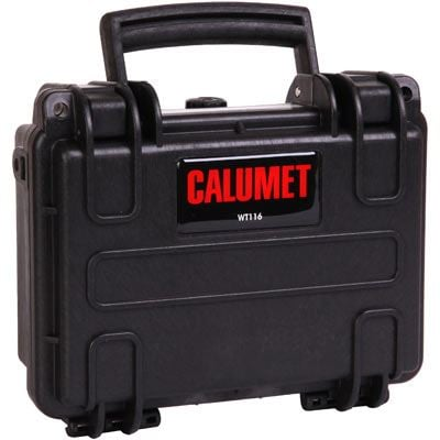 Calumet WT116 Water Tight Hard Case - Black