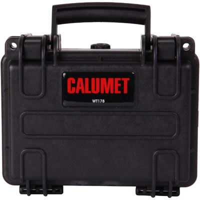 Calumet WT178 Water Tight Hard Case - Black