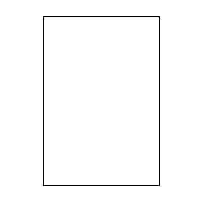 Colorama Colorgloss 100 x 130 cm Super White
