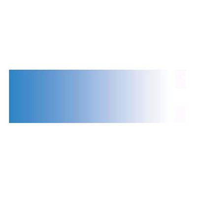 Image of Colorama Colorgrad 100 x 170 cm White / Bluebell