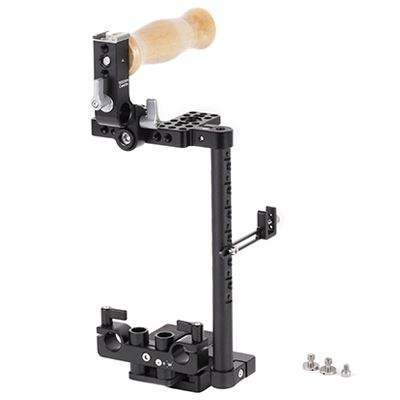 Image of Manfrotto and Wooden Camera - Camera Cage Large