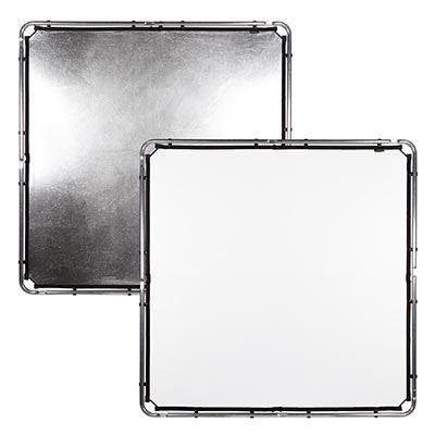 Image of Lastolite Skylite Rapid Fabric Midi 1.5 x 1.5m Silver / White