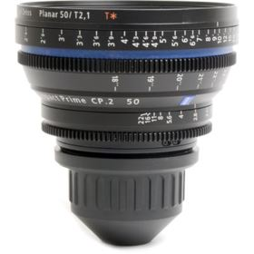 Used Zeiss 50mm T2.1 CP.2 Makro Cine Prime T* Lens - Sony E Mount (Feet)