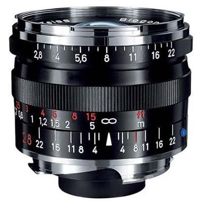 Zeiss 28mm f2.8 T* Biogon ZM Black Lens – Leica Fit