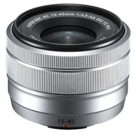 Fujifilm 15-45mm F3.5-5.6 XC OIS PZ Lens - Silver