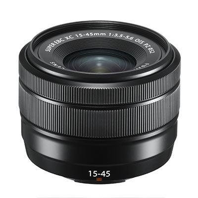 Fujifilm XC 15-45mm f3.5-5.6 OIS PZ Lens - Black