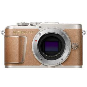 Olympus Pen E-PL9 Digital Camera Body - Brown