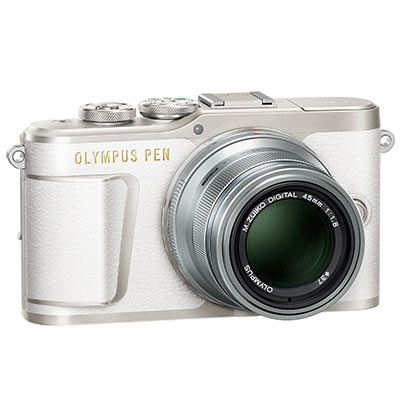 Used Olympus Pen E-PL9 Digital Camera with 14-42mm Lens – White