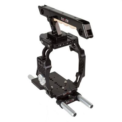 Image of Shape Canon C200 Cage 15mm LW Base with Top Handle