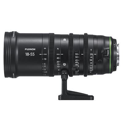 Fujinon MK 18-55mm T2.9 Cinema Zoom Lens - Fuji X Mount