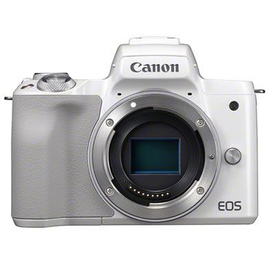 Image of Canon Eos M50 Csc Camera (White) - Body Only