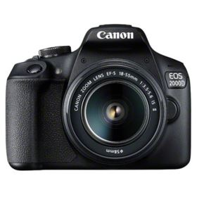 Canon EOS 2000D with 18-55mm IS II