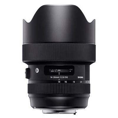 Sigma 14-24mm f2.8 DG HSM Art Lens - Canon Fit