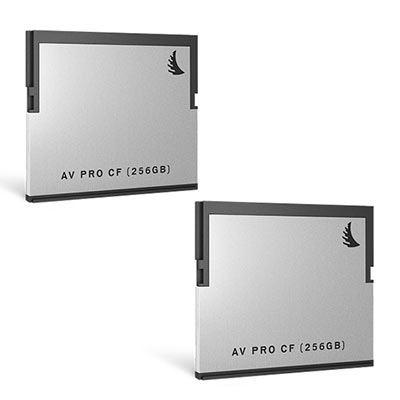 Angelbird AVpro CFast 2.0 256GB (400MB/s) - Twin Pack