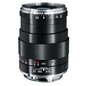 Zeiss 85mm f4 Tele-Tessar T* ZM Black Lens - Leica Fit