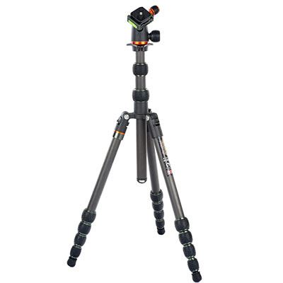 3 Legged Thing PUNKS Brian Carbon Fibre Tripod with AirHed Neo - Black