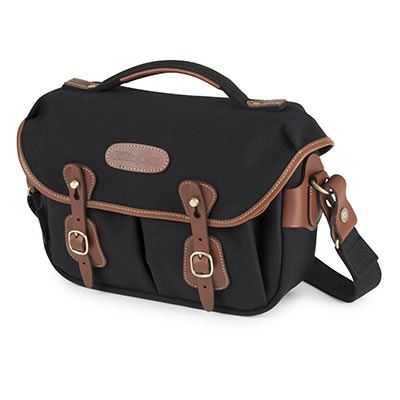 Billingham Hadley Small Pro – Black Canvas / Tan