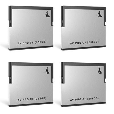 Angelbird AVpro CFast 2.0 256GB (400MB/s) | 4 PACK