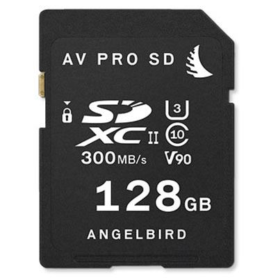 Image of Angelbird SD CARD UHS II 128GB V90 300MB/s